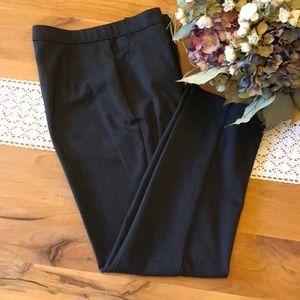 Investments Petites Charcoal Gray Dress Pants.